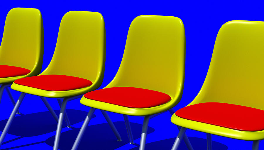 Furniture Digital Art - Take Your Seat by Richard Rizzo