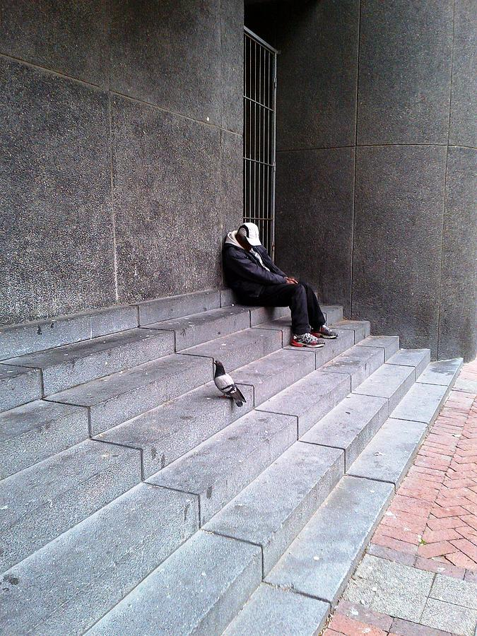 Photograph - Taking A Break by Morney Hans