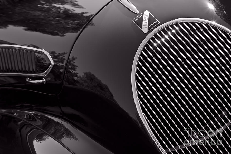 Classic Photograph - Talbot Lago by Dennis Hedberg