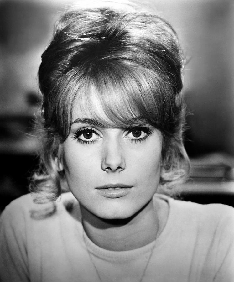 1962 Movies Photograph - Tales Of Paris, Catherine Deneuve, 1962 by Everett