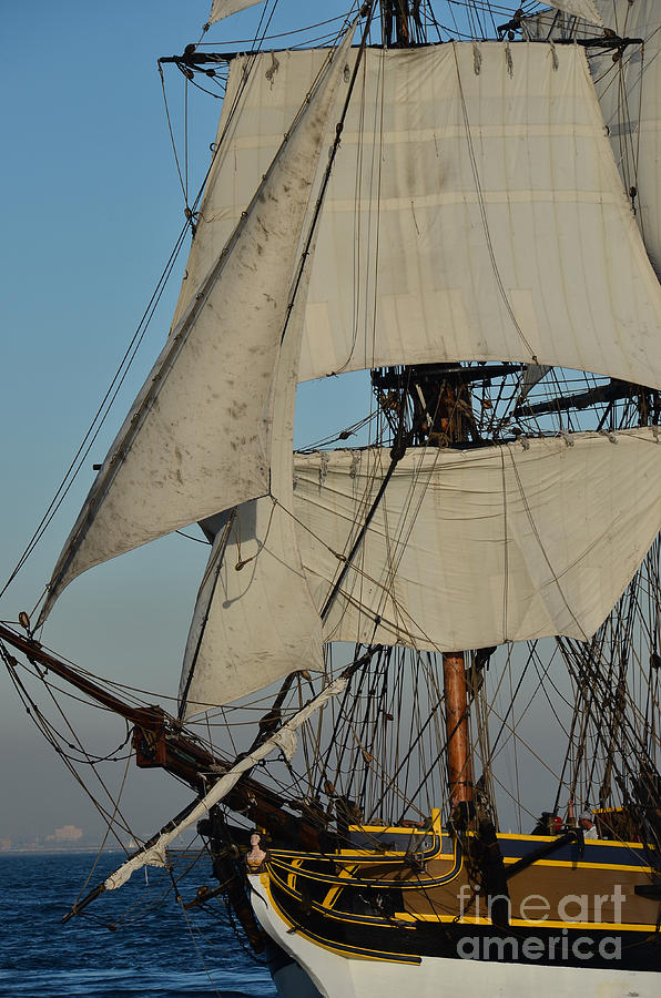 Tall Ship Photograph - Tall Ship   by Timothy OLeary