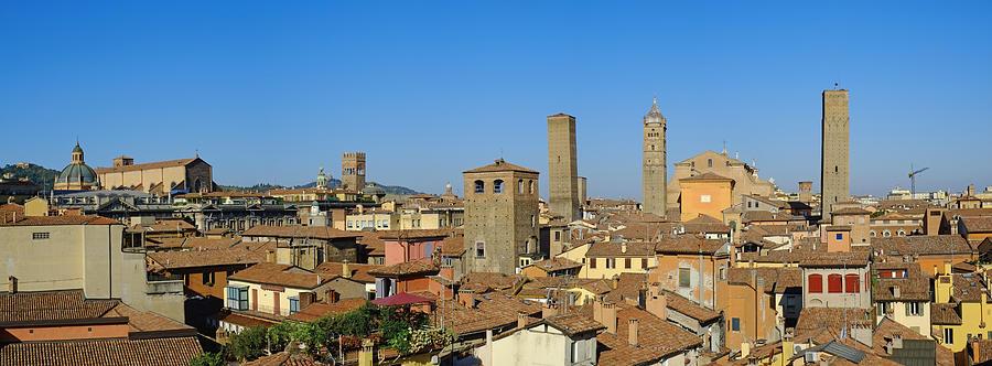Horizontal Photograph - Taly, Emilia-romagna, Bologna, Cityscape by Bruno Morandi