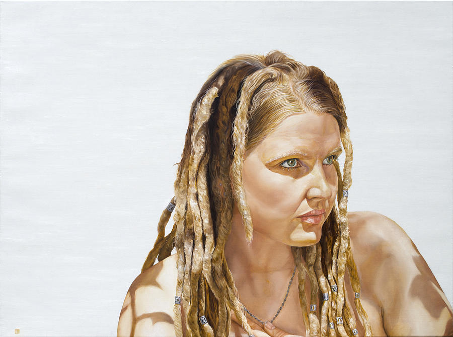 Paintings Painting - Tam by David Wells