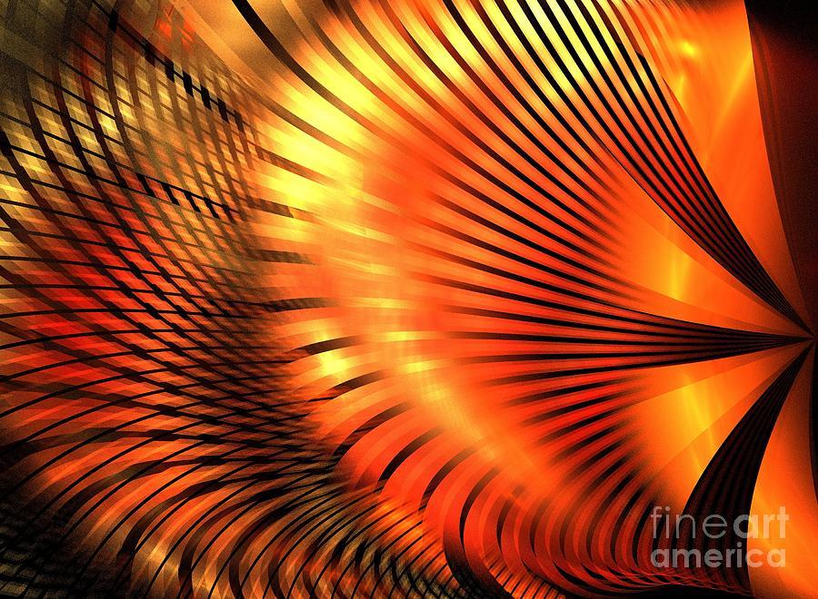 Apophysis Digital Art - Tangerine by Kim Sy Ok