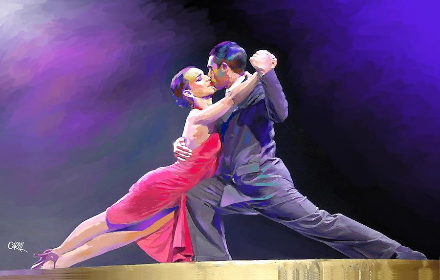 Tango Digital Art - Tango by Carvil