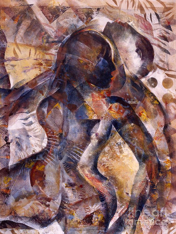 Tango Mixed Media by Charles B Mitchell