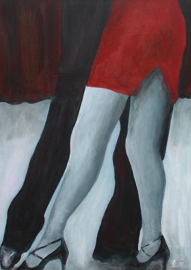 Tango Legs Painting By Elke Sommer