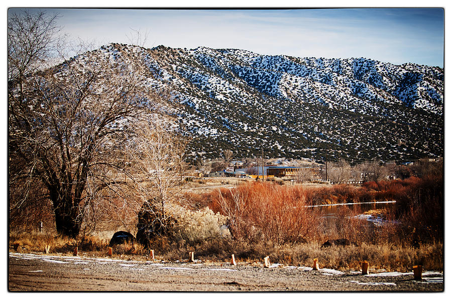 Taos Photograph - Taos Mountain View 1 by Lisa  Spencer