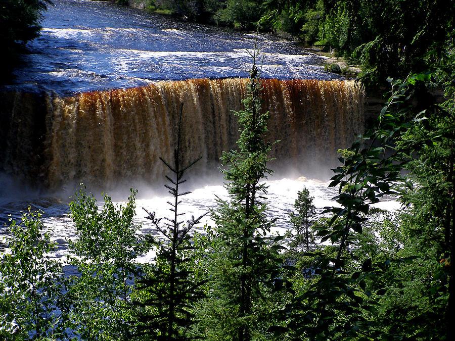 Water Photograph - Taquamenon Falls by Mark Caldwell