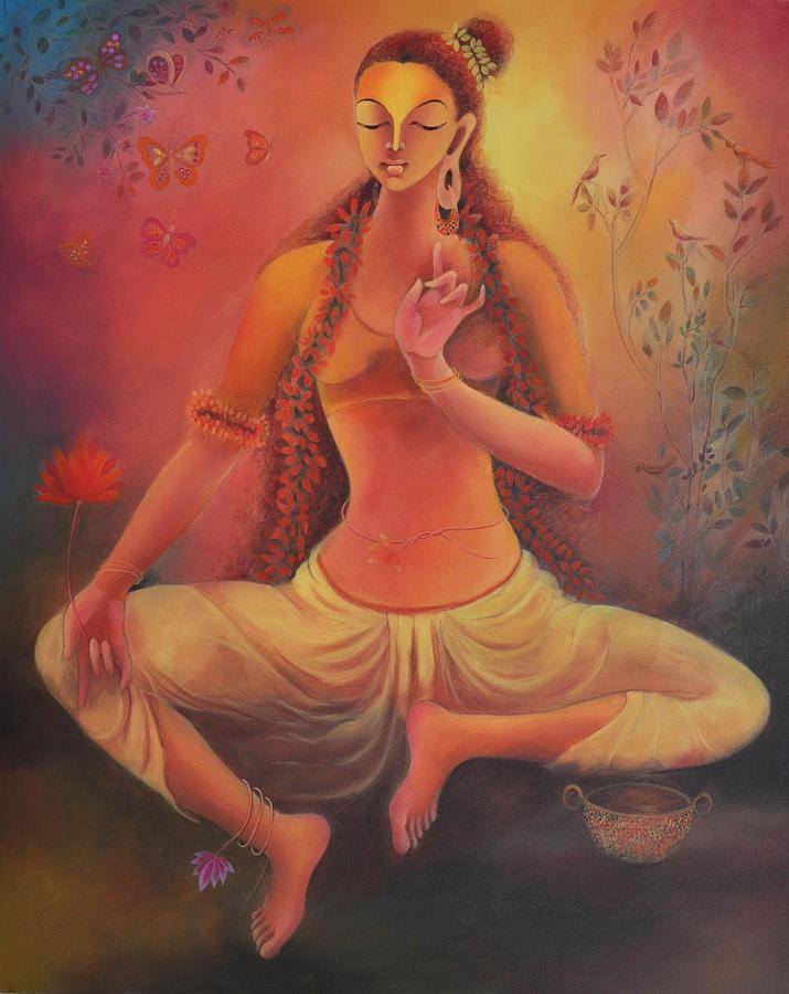 Buddha Painting - Tara - I by Manisha Raju