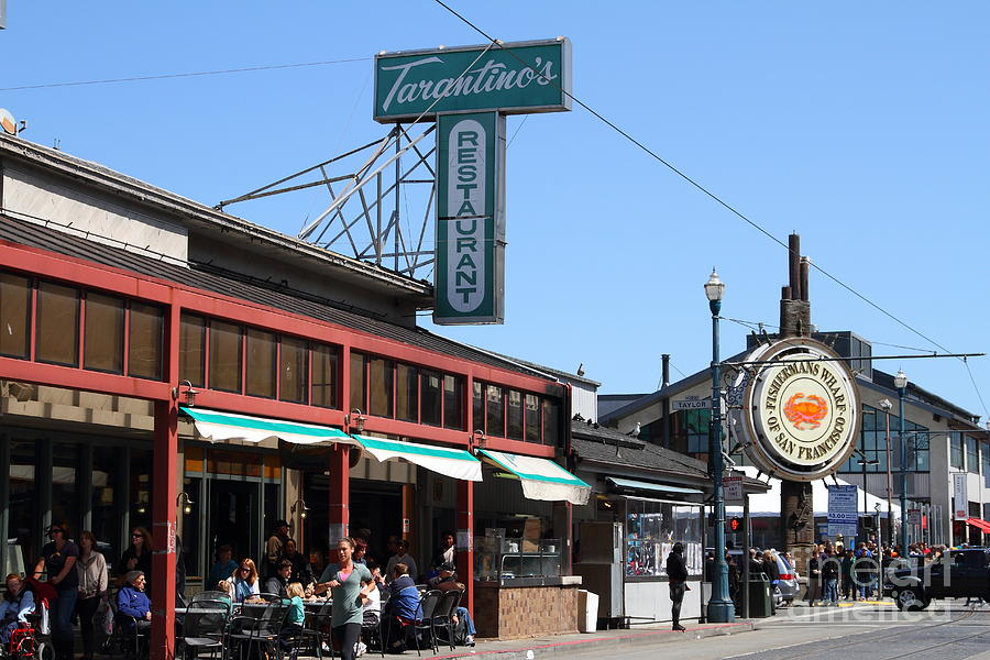 Tarantinos restaurant fishermans wharf san francisco for American cuisine in san francisco