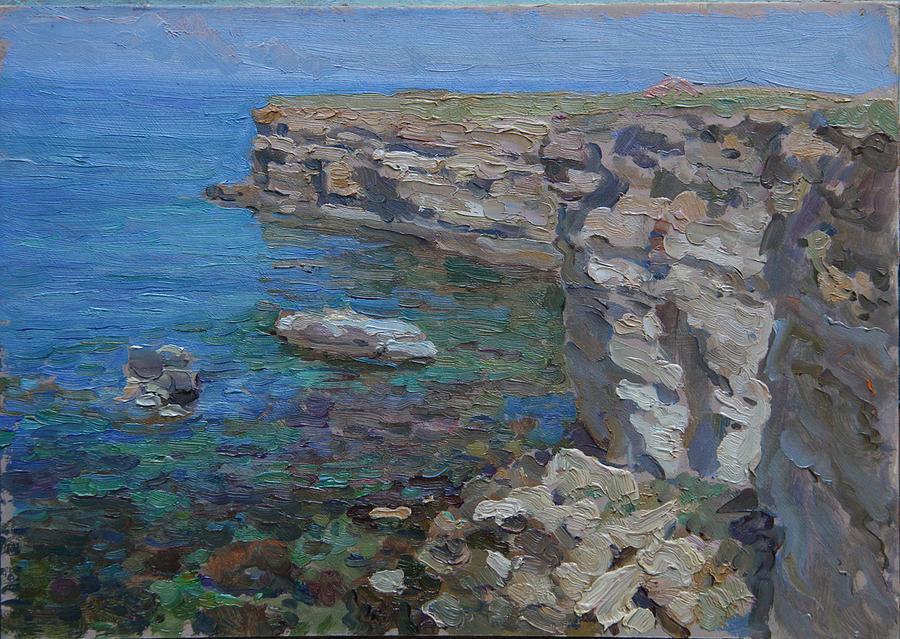 Landscape Painting - Tarhankut by Korobkin Anatoly