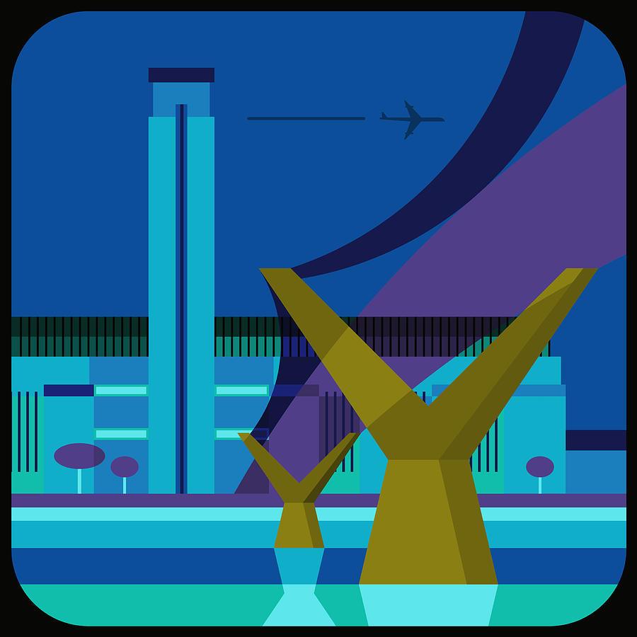 Square Digital Art - Tate Gallery And Millennium Bridge, London, United Kingdom by Nigel Sandor