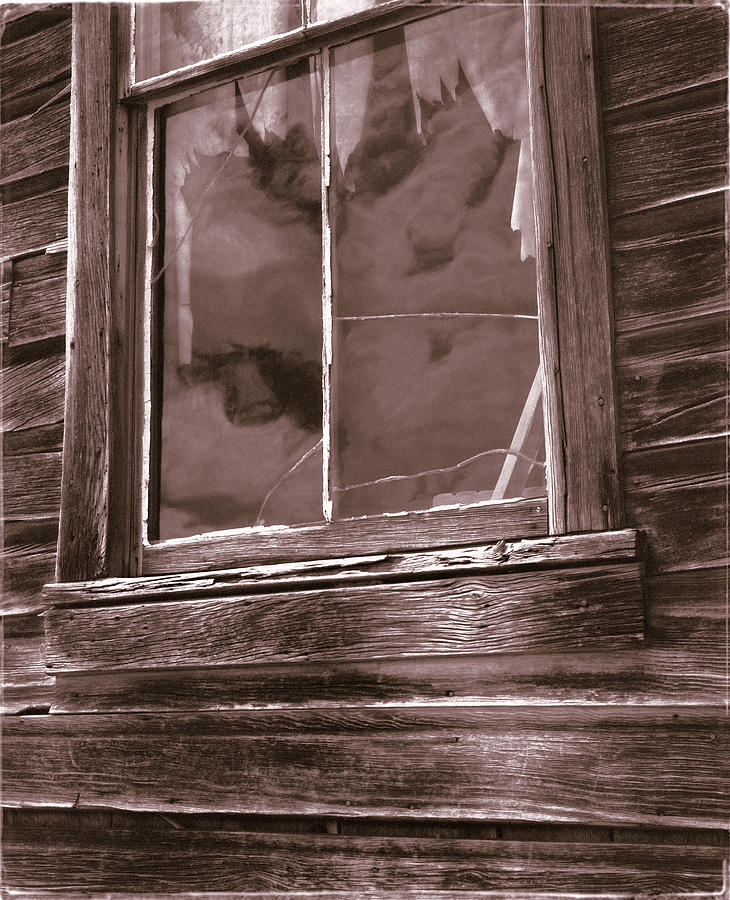 California Photograph - Tattered Clouds - Bodie by Jan W Faul