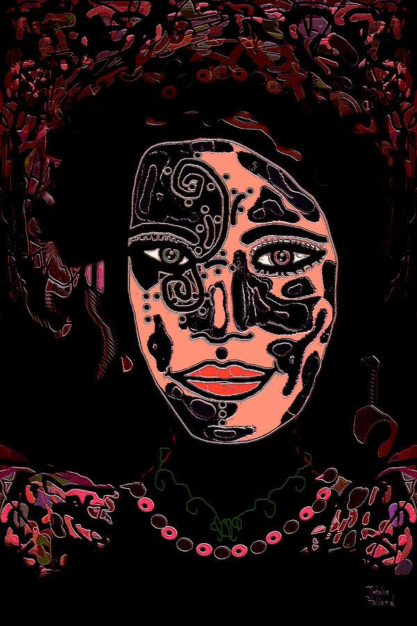 Tattoo Artist Mixed Media - Tattoo Artist by Natalie Holland