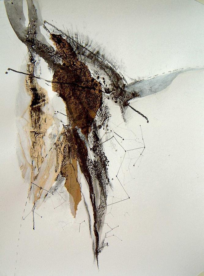 Taurus Painting - Taurus by Brenda Ullrich