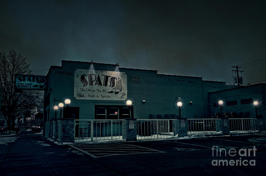 Spats Photograph - Tav On The Ave by Joel Witmeyer