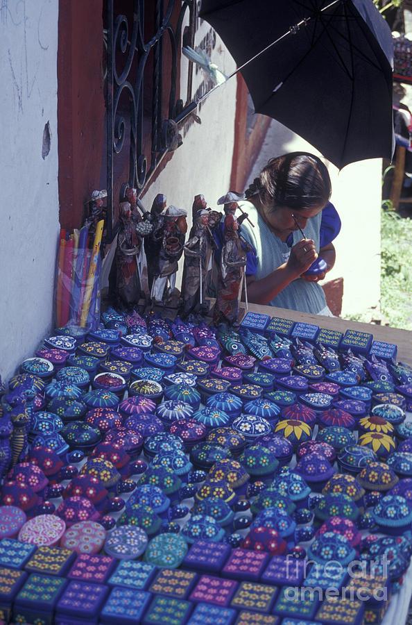 Taxco Artisan Mexico Photograph