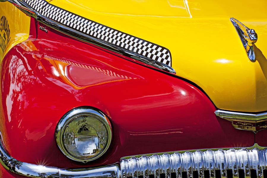 Taxi Photograph - Taxi De Soto by Garry Gay