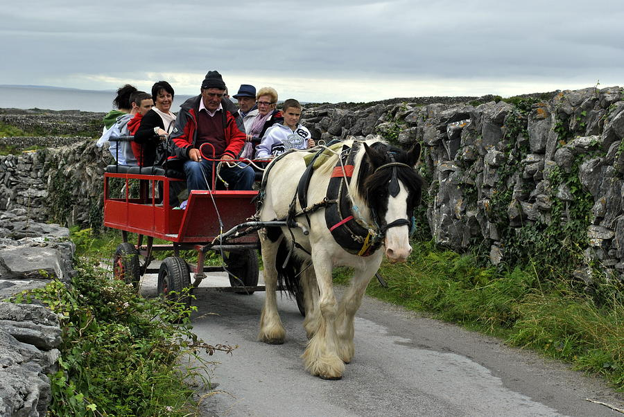 Aran Islands Photograph - Taxi by Joe Ormonde