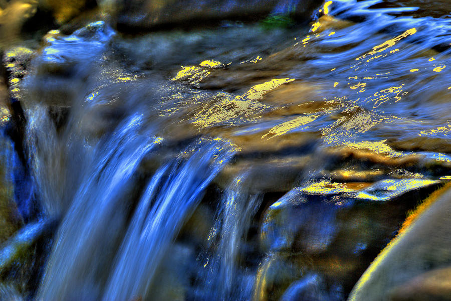 Waterfall Photograph - Taylor Waterfall by David Clark