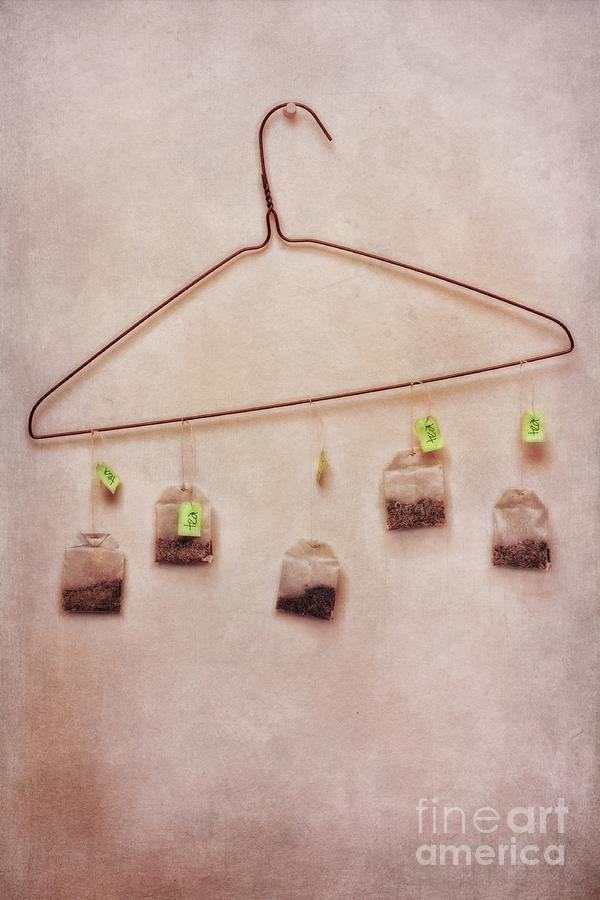 Tea Photograph - Tea Bags by Priska Wettstein