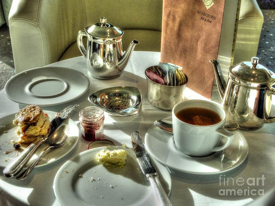 Tea Photograph - Tea For Two by Michael Garyet