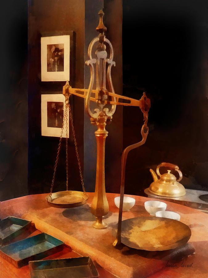 Tea Scale Photograph - Tea Scale by Susan Savad