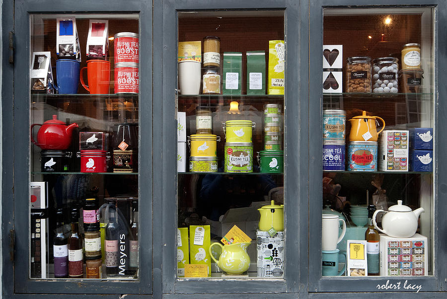 Shop Photograph - Tea Shop by Robert Lacy