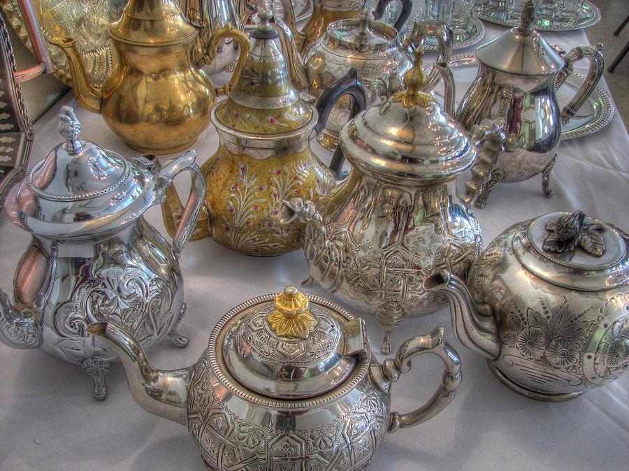 Tea Photograph - Tea Time by Jane Linders