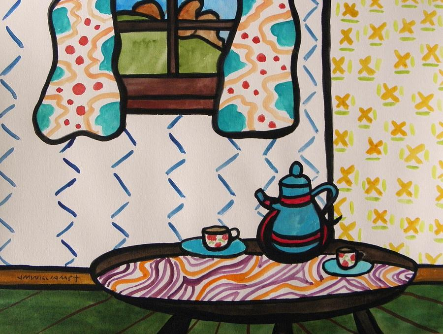 Tea Painting - Tea Time by John Williams