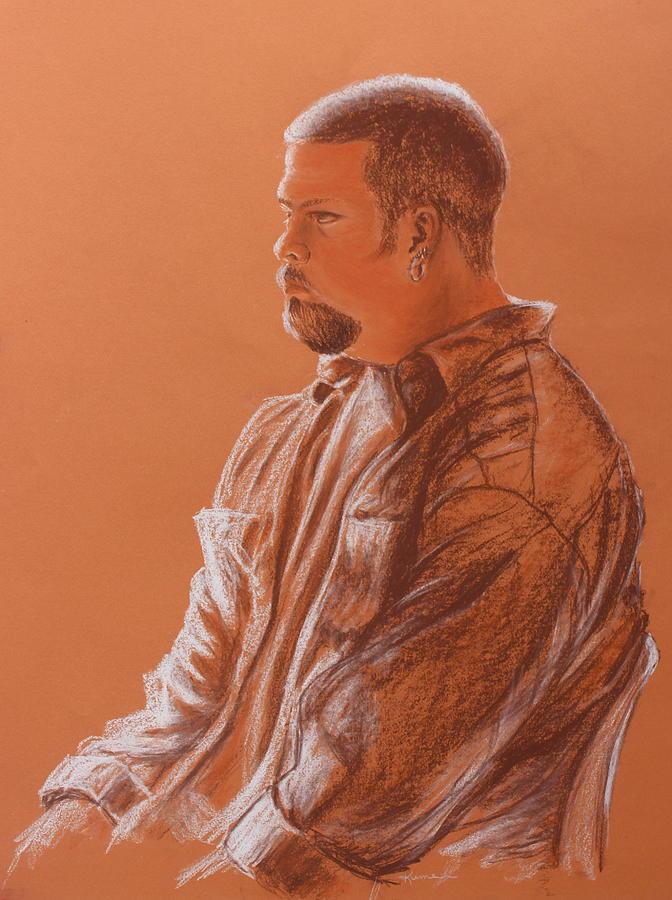 Man Drawing - Teachers Son by Kume Bryant