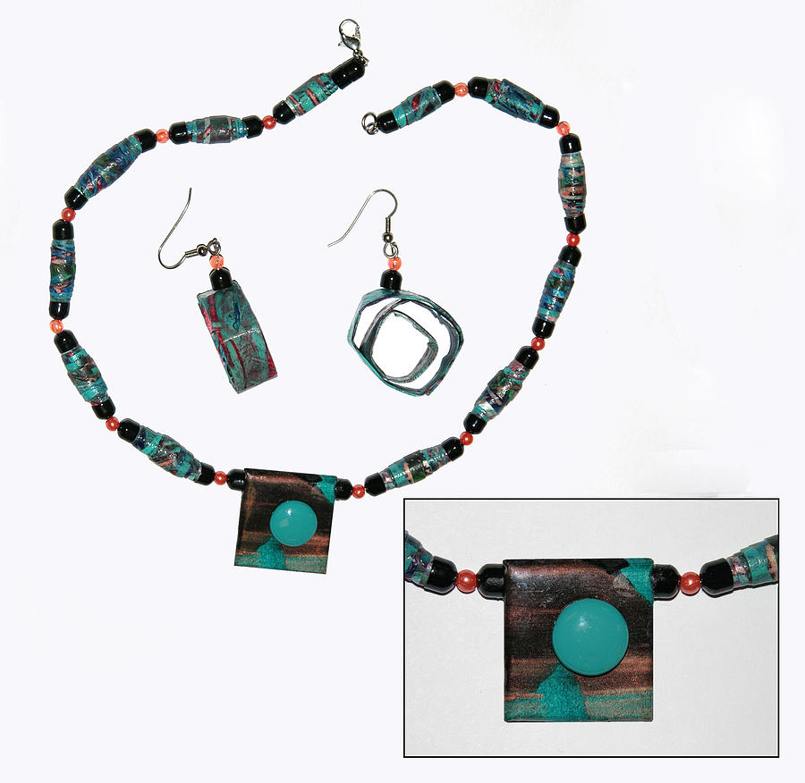 Necklace Jewelry - Teal Me In by Adele Greenfield