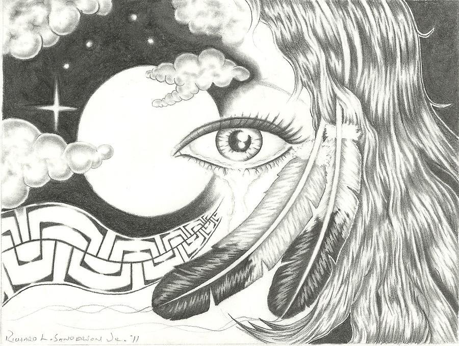 Tears Of Friendship Drawing By Jr Sanderson