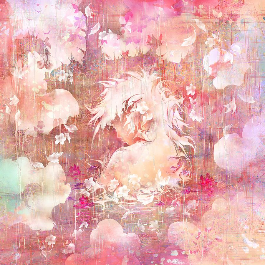 Fantasy Digital Art - Tears Of The Rain by Rachel Christine Nowicki