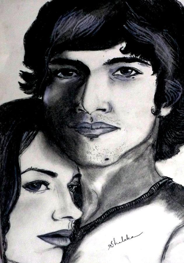 teen wolf drawing by shalaka prasad