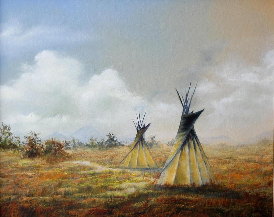 Teepee by Meg Keeling