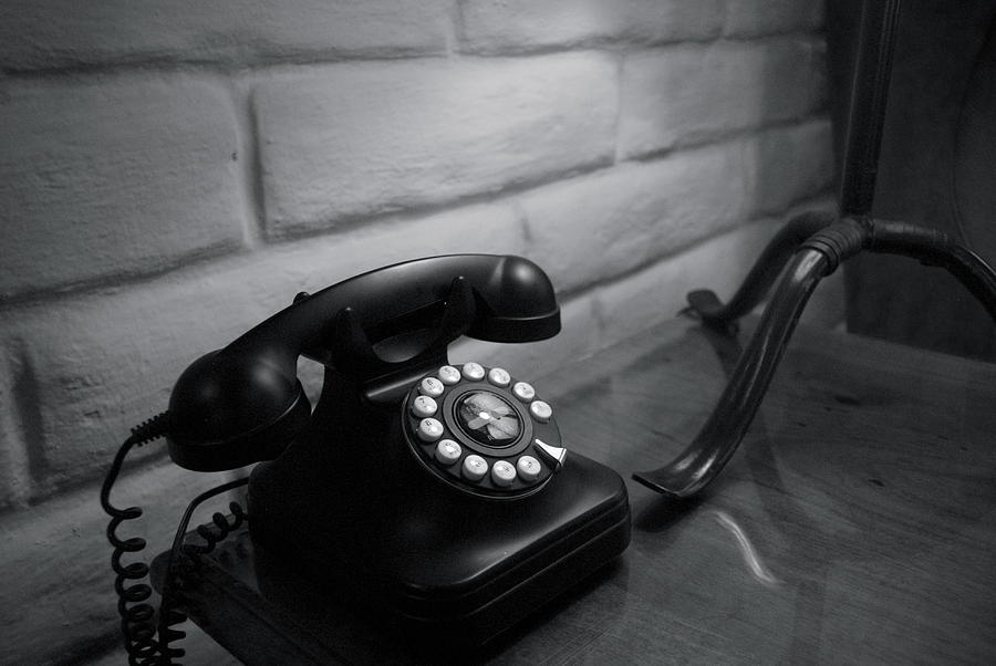 Rotary Phone Photograph - Telecommunications by Dietrich Sauer