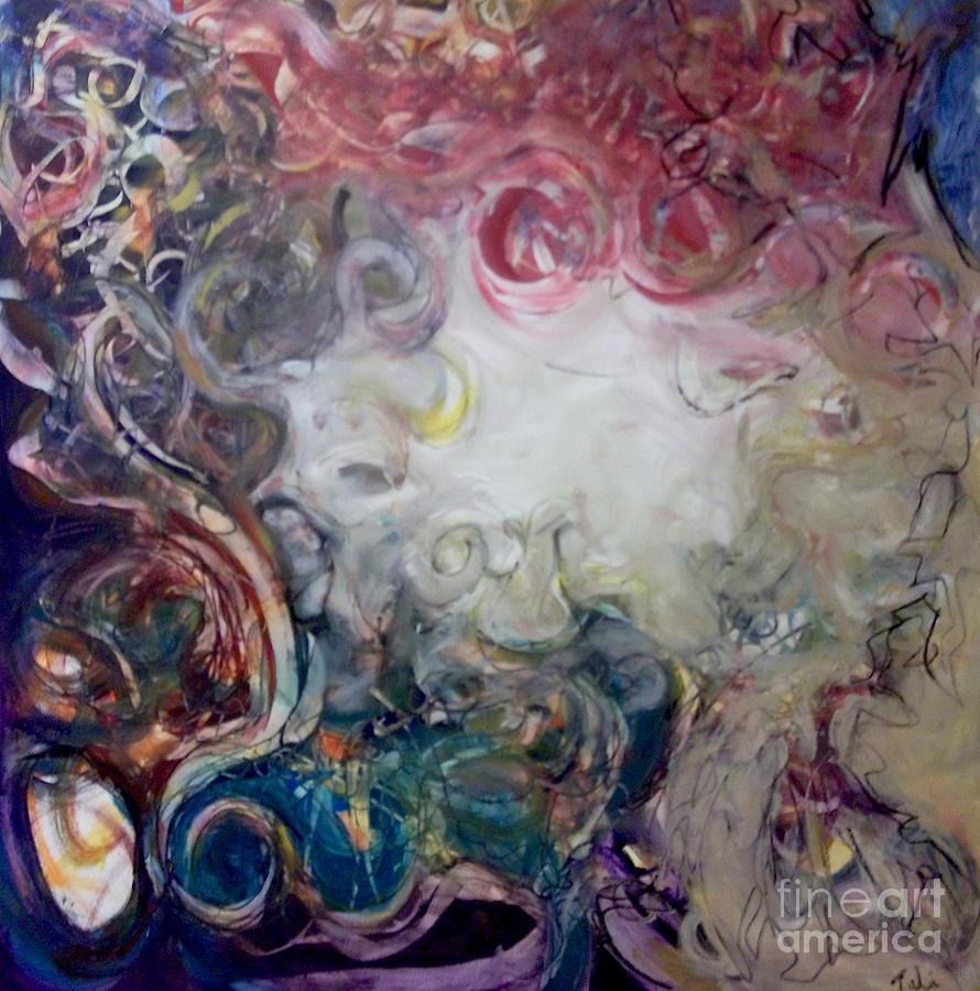 Telemann Painting - Telemann by Tali Farchi