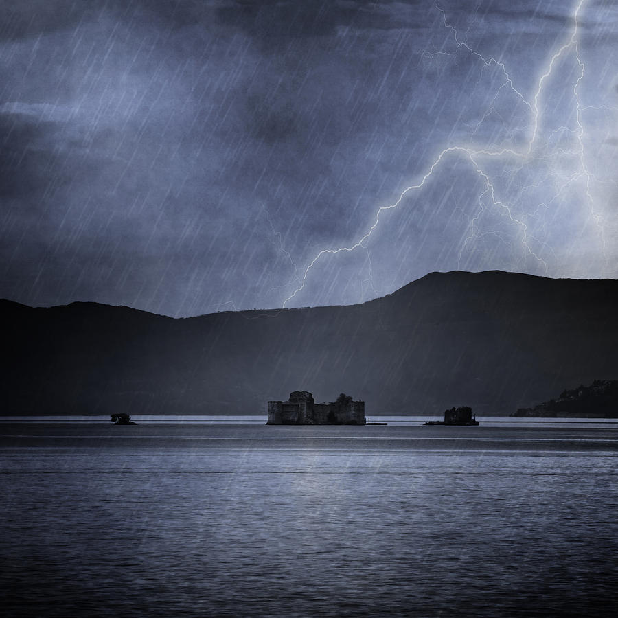 Lake Maggiore Photograph - Tempest by Joana Kruse