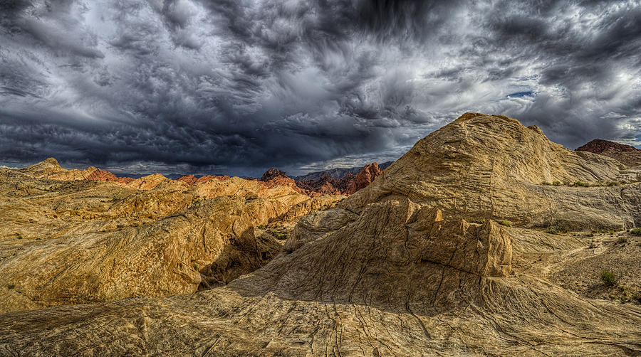 Hdr Panoramic Photograph - Tempest by Stephen Campbell