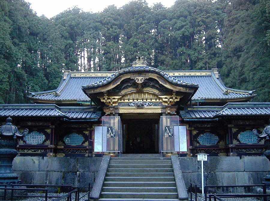 Japan Photograph - Temple Building by Naxart Studio