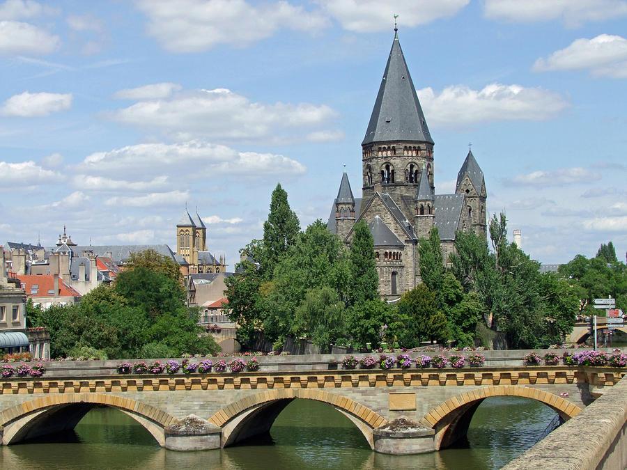 Europe Photograph - Temple Neuf De Metz Metz France by Joseph Hendrix