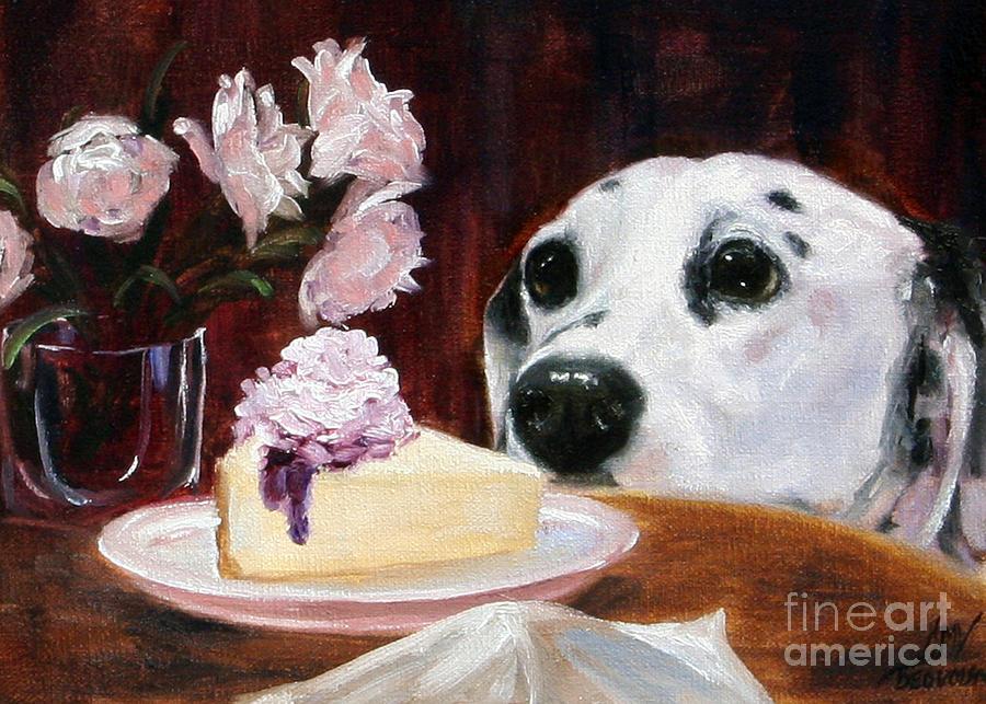 Food Painting - Temptation by Stella Violano