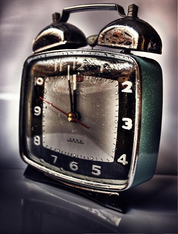 Clock Photograph - Tempus Fugit by Gabriel Calahorra
