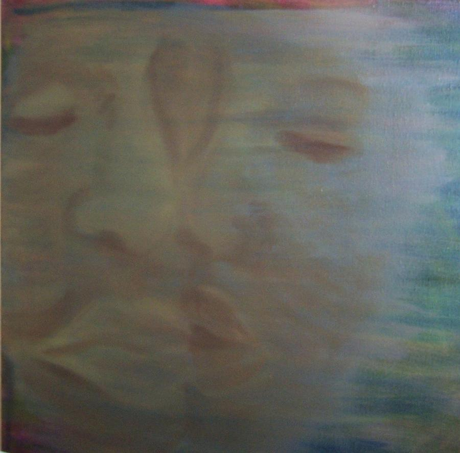 Kiss Painting - Tender Kiss by Susan Saver