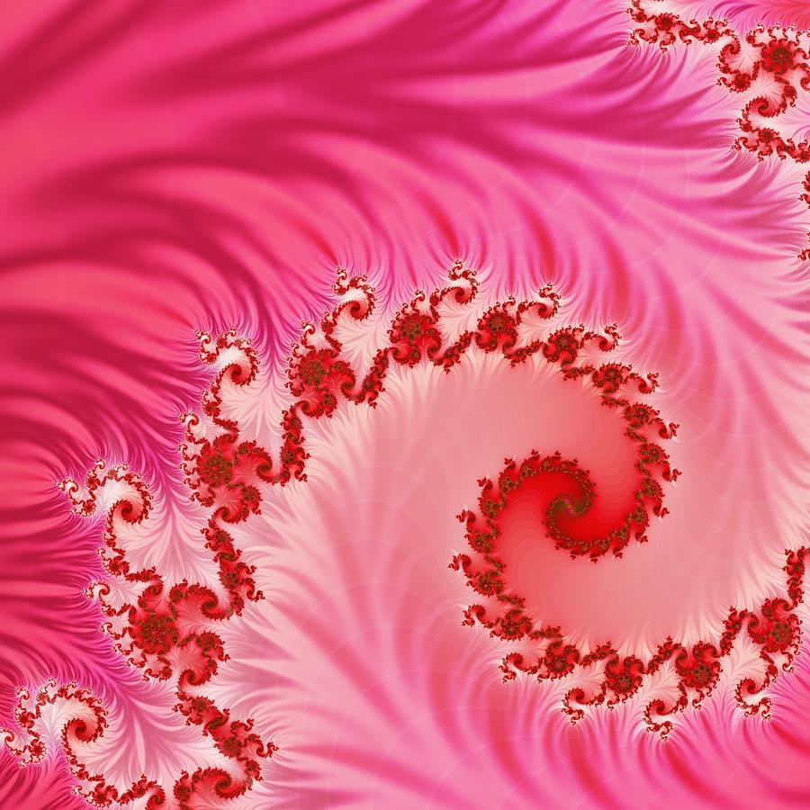 Swirls Digital Art - Tendrils by Sharon Lisa Clarke