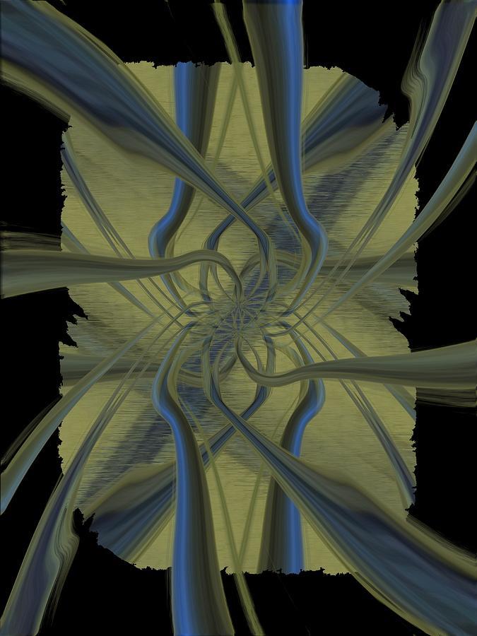 Abstract Digital Art - Tendrils by Tim Allen