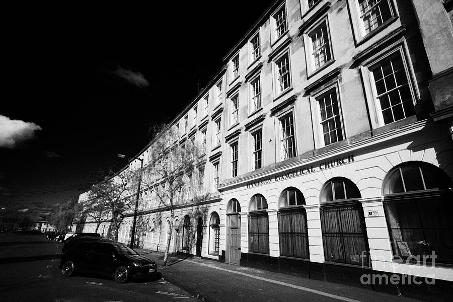 Tenement Photograph - tenement block on minerva street finnieston Glasgow Scotland UK by Joe Fox