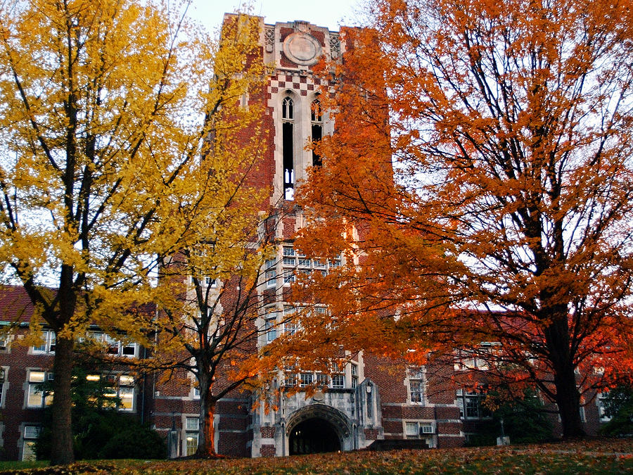 Tennessee Photograph - Tennessee Ayers Hall by University of Tennessee Athletics
